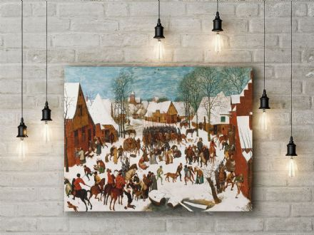 Pieter Bruegel: The Massacre of the Innocents. Fine Art Canvas.